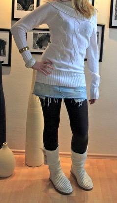 A&F leggings:skirt